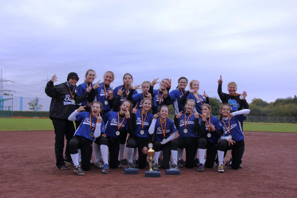 Bayerische Softball Jugend verteidigt Länderpokaltitel zum sechsten Mal
