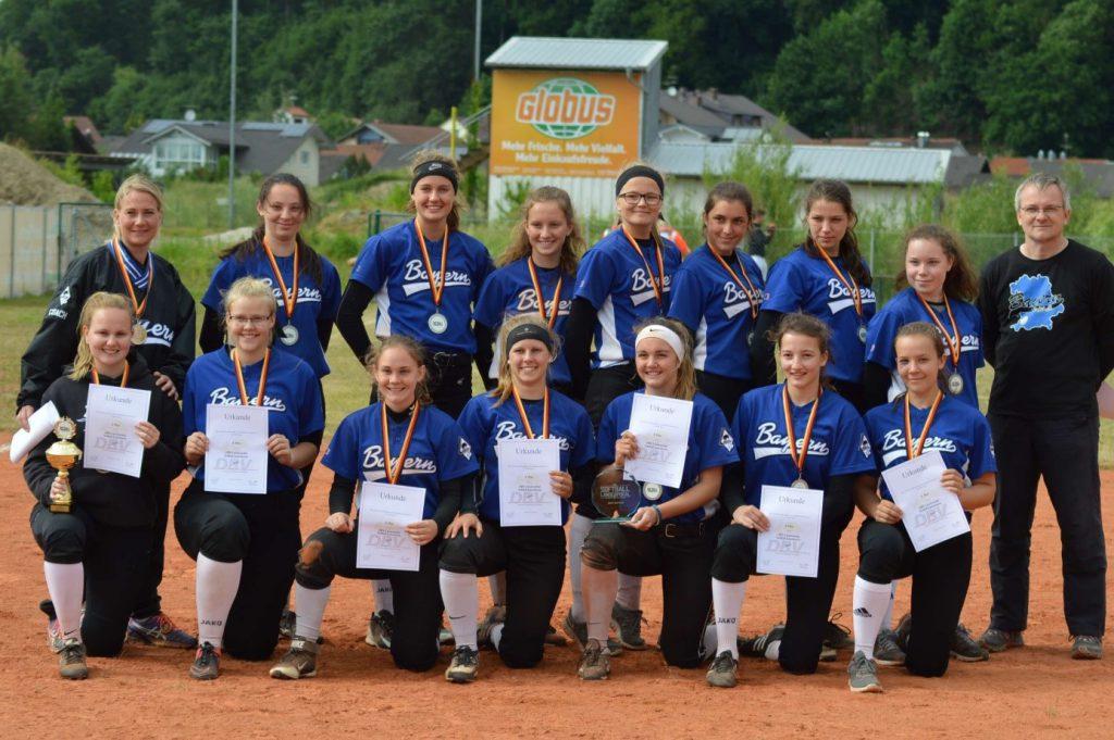 Softball-Länderpokal 2017 geht an die Auswahl aus NRW