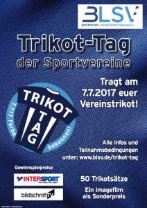 Macht mit beim Trikot-Tag der Sportvereine 2017!