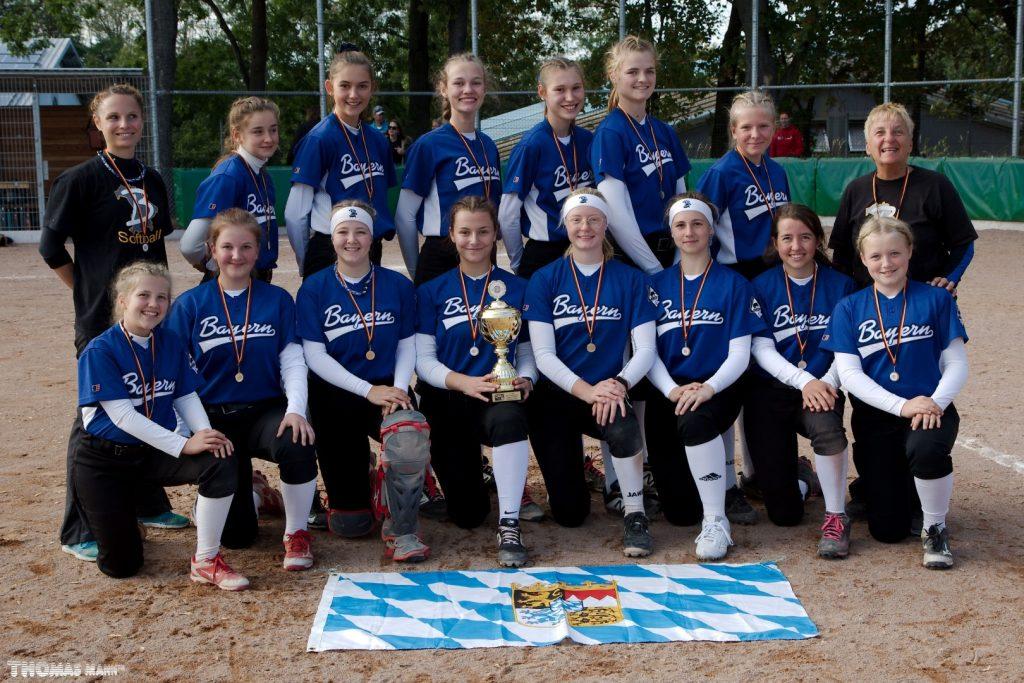 Führungswechsel am Softball-Länderpokal U16
