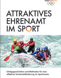 """Broschuere """"Attraktives Ehrenamt im Sport"""""""