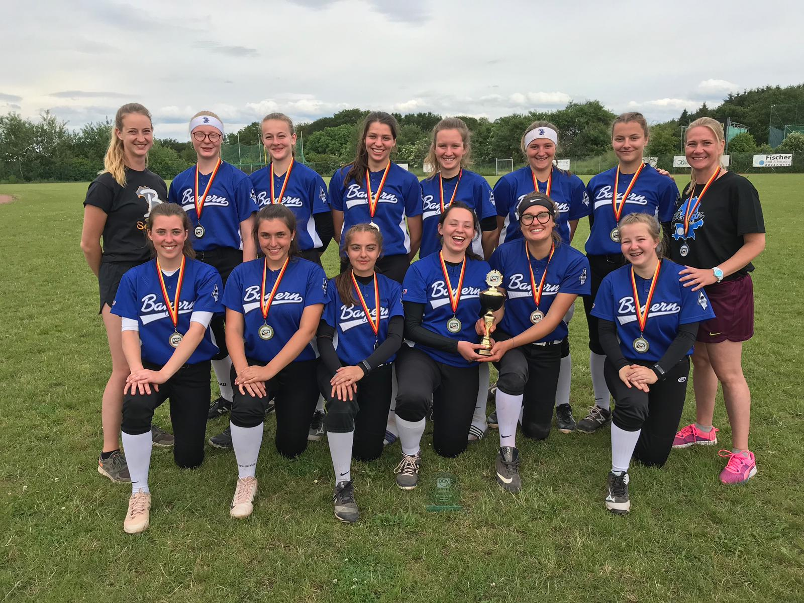 Länderpokal Softball Juniorinnen 2019 – Neunkirchen
